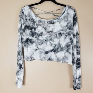 Hollister Tye Dye Crop Top Size Small F19
